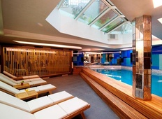Pool at Taba Luxury Suites in Besiktas, Istanbul