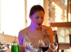 Fine dining at Taba Luxury Suites in Besiktas, Istanbul