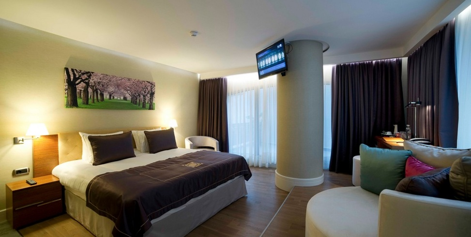 Deluxe Room at Taba Luxury Suites in Besiktas, Istanbul